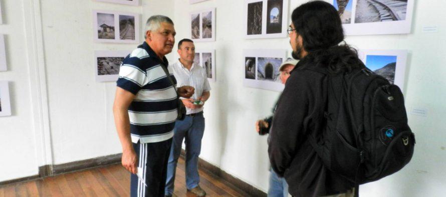 """Muestra fotográfica """"Vías en Silencio"""" en Casa de la Cultura retrata las historias del tren de la zona"""