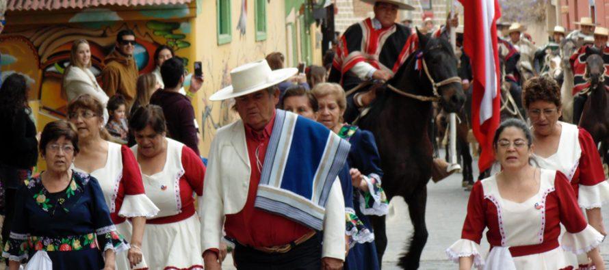 Club de Huasos de Pisco Elqui  rindió homenaje de Fiestas Patrias en comuna de Paihuano