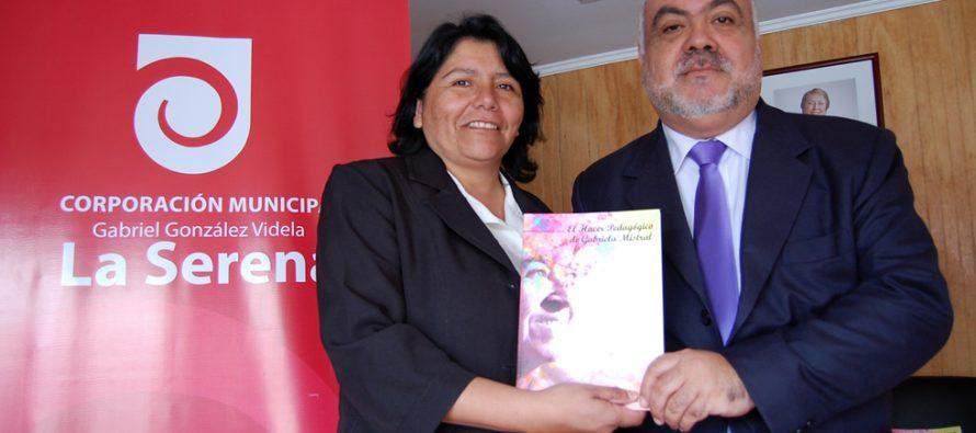 Corporación Municipal de La Serena comparte legado pedagógico de Gabriela Mistral en Montegrande