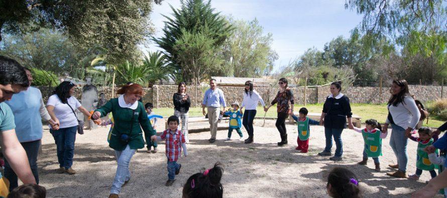 Con ronda infantil promueven el juego como derecho de la niñez en el Museo Gabriela Mistral