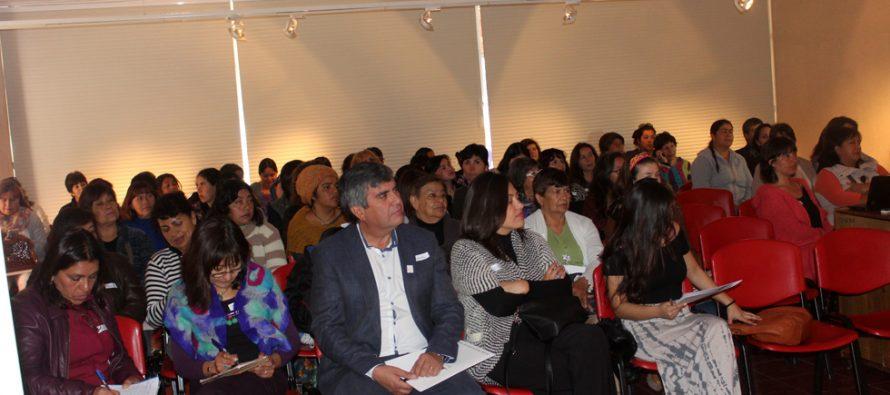 Más de 80 mujeres participaron en el seminario sobre igualdad de derechos en Vicuña