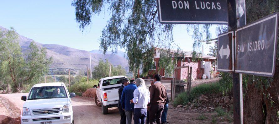 Comienzan pavimentaciones MOP para sectores de La Campana, La Viñita y Mamalluca