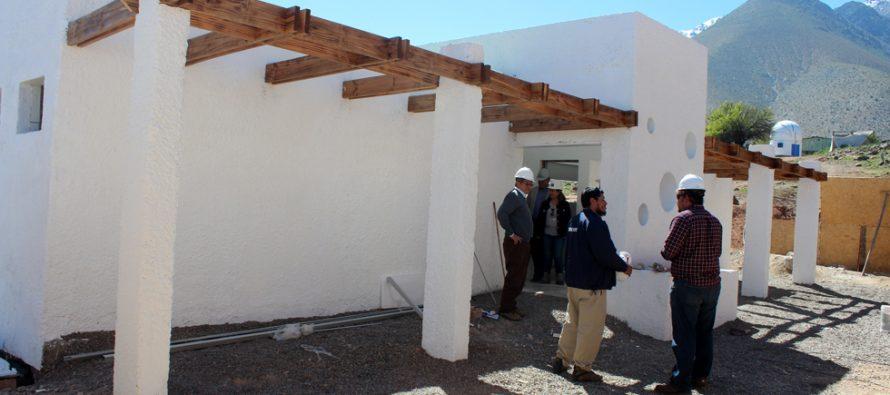 Construyen nuevos servicios higiénicos en el Observatorio Mamalluca con proyecto SUBDERE