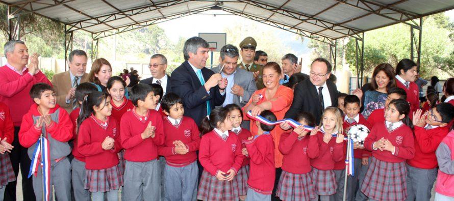 Más de 33 millones se invirtieron en mejoras en la escuela Dagoberto Campos Nuñez de El Molle