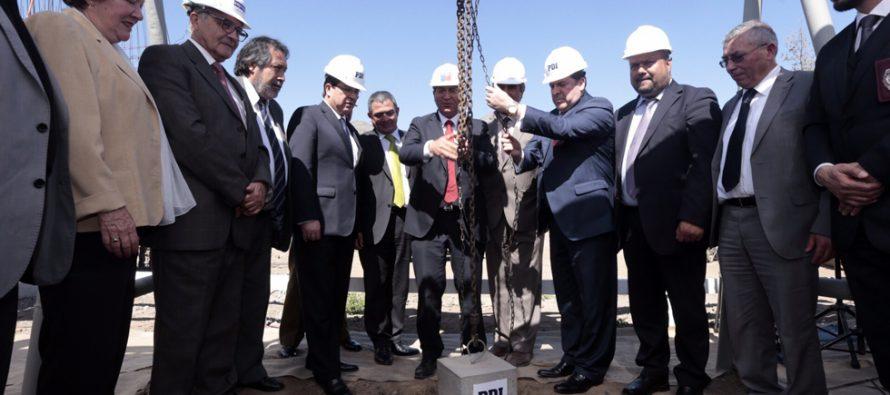 Para junio del 2016 se espera la entrega del nuevo cuartel de la PDI de Vicuña