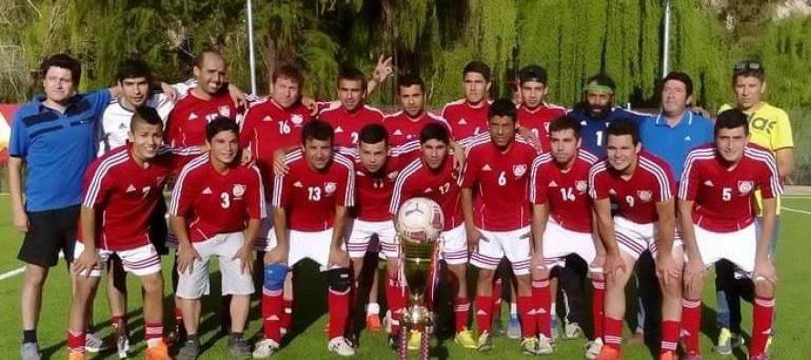 Unión Pisco de Pisco Elqui es el nuevo campeón del torneo ANFUR 2015