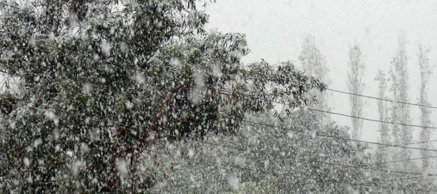 El Valle del Elqui se tiñe de blanco nuevamente por la nieve