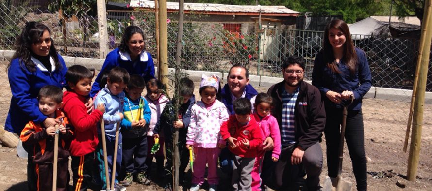 Jóvenes fomentan el rescate de espacios públicos en localidad del Valle de Elqui