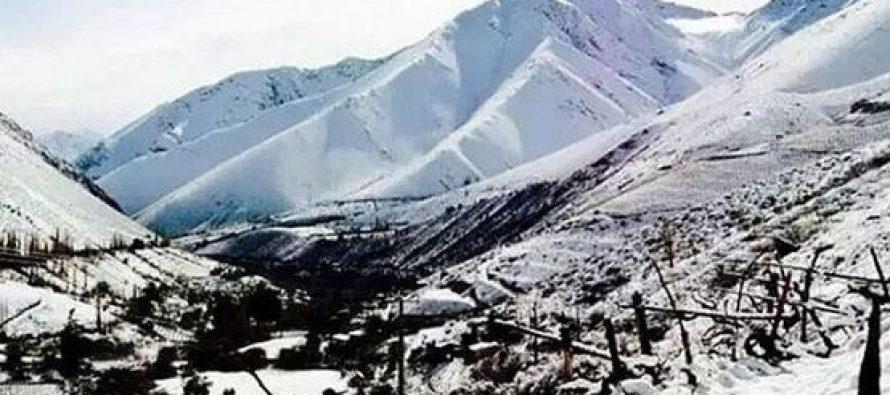 Se prevé acumulación de nieve en sector cordillerano sobre los 2000 metros de altura