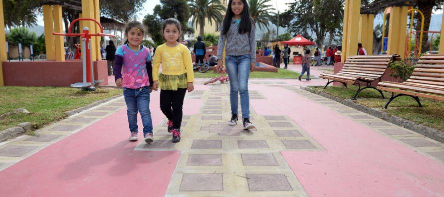 Un total de 21 millones de pesos se invirtieron en la remodelación de plaza de Algarrobito