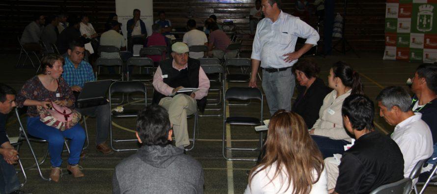 Positiva jornada tras Diálogo Participativo en la comuna de Vicuña