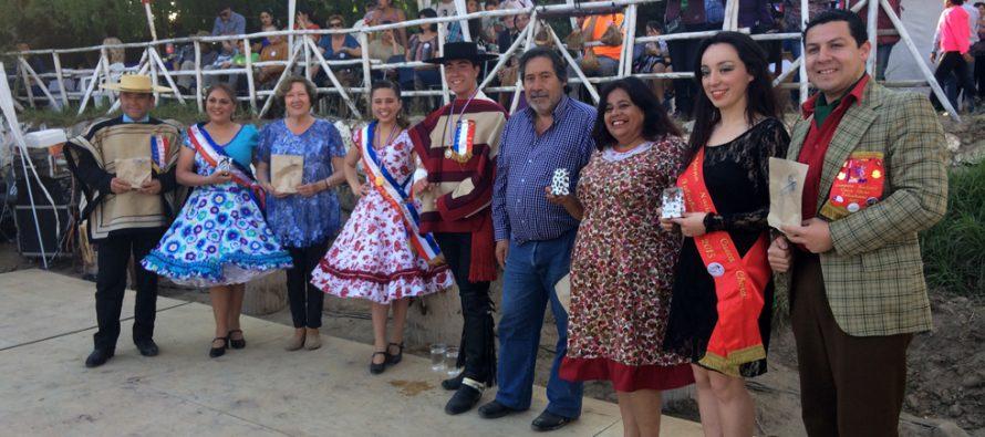 En Vicuña se vive exitosa muestra nacional de Folclor y campeonato de cueca apoyado por el CORE