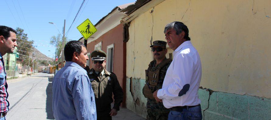 Realizan gestiones para que Vicuña y Paihuano sean incluidas en Zona de Catástrofe