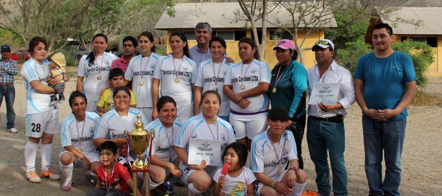 Club Deportivo Lourdes se queda con el primer lugar del Torneo de Apertura de la Liga Femenina