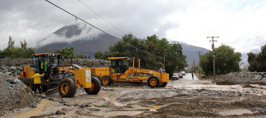 Bajada de quebradas en la comuna de Vicuña provoca Alerta Roja para la Provincia de Elqui
