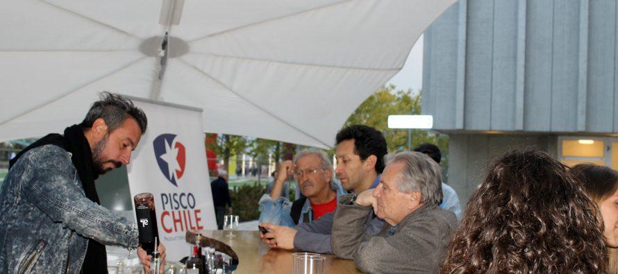 Pisco chileno brilla en Expo Milán 2015