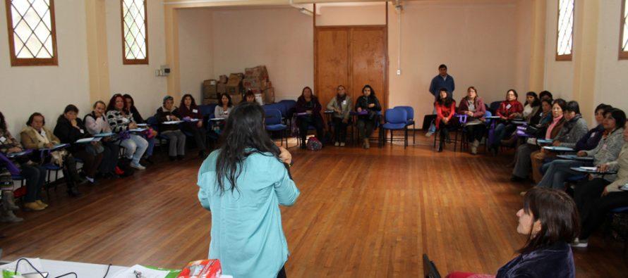 Mujeres de Vicuña, Paihuano y Altovalsol participaron de la  Escuela de Lideresas