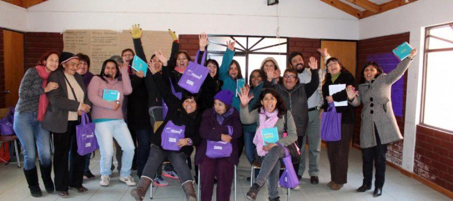 Mujeres de Vicuña son beneficiadas con el programa de desarrollo de competencias laborales