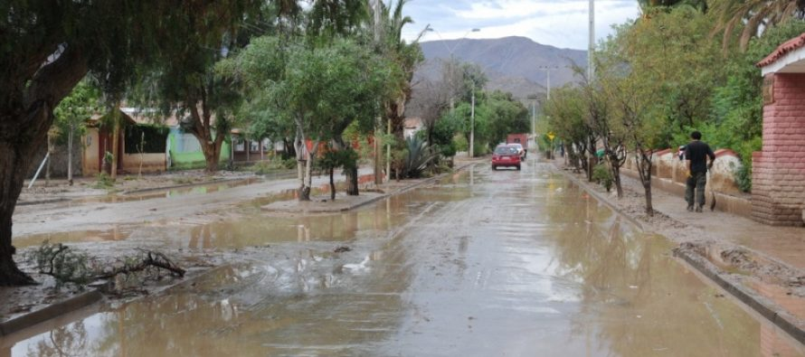 Pronostican precipitaciones desde el martes al jueves en toda la Región de Coquimbo