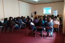 Oficina SENDA Previene realiza capacitación en la temática de integración social en Vicuña