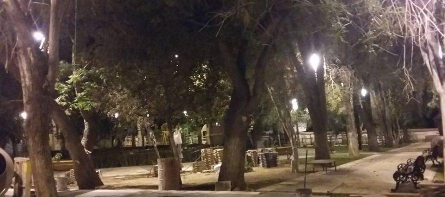 Remodelación plaza Pisco Elqui