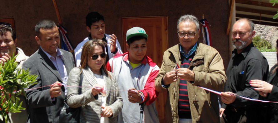 Liceo Mistraliano de Paihuano inaugura nuevas dependencias para taller de alfarería