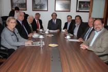 CORE y diputados de Rio Grande do Sul firman compromiso para potenciar el Corredor Bioceánico