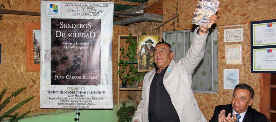 """Escritor elquino presenta su obra """"Senderos de Soledad"""" en la Feria del Libro de La Serena"""