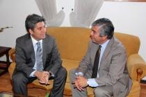 Intendente Regional y Alcalde de Vicuña analizan  nuevos proyectos para la comuna