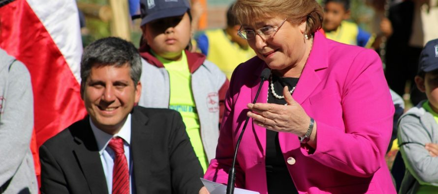 Presidenta Bachelet extiende zona de escasez hídrica para la región