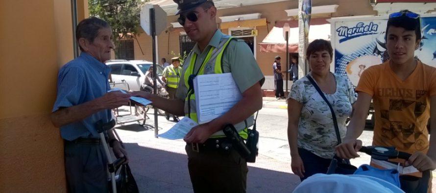 En Vicuña Carabineros intensifica iniciativa navidad segura