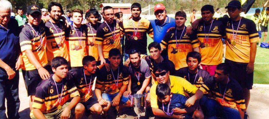 "San Isidro se coronó campeón del ANFA Vicuña 2015 ""Copa Floreal Torres"""