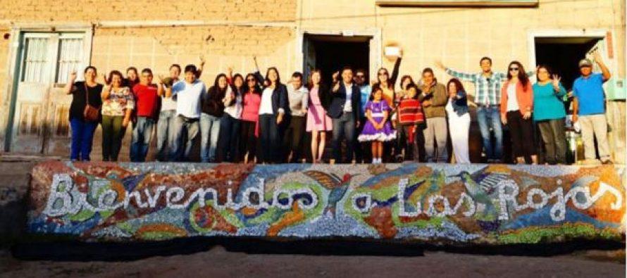 Las Rojas estrena hermosa forma de dar la bienvenida a la localidad
