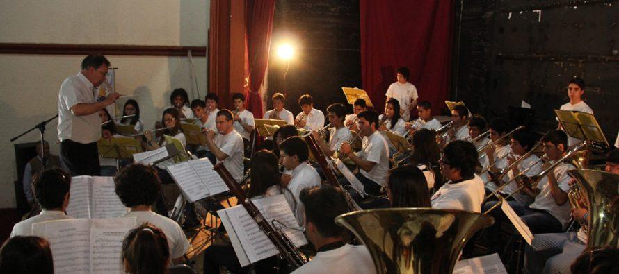 La Serena y Vicuña se unen con Banda Juvenil para conmemorar los 70 años del Premio Nobel