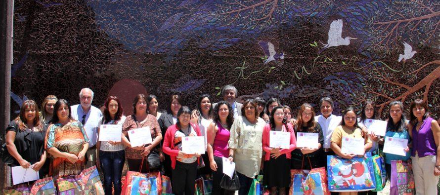 Mujeres de Vicuña finalizan con éxito  el programa de desarrollo de competencias laborales