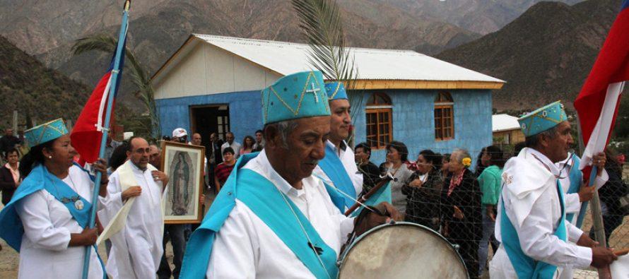 Celebran primera eucaristía en nueva capilla de Pullayes