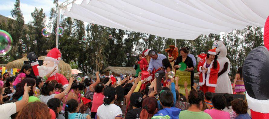 Más de 3 mil niños y niñas de Vicuña disfrutaron de la Fiesta Navideña
