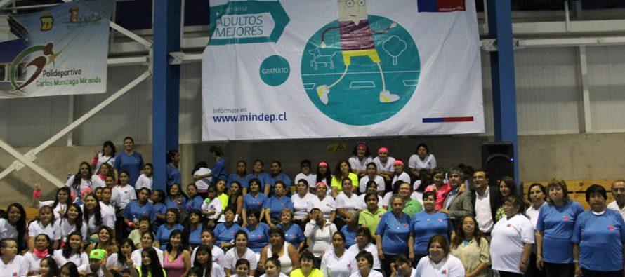 Con gran participación culminan programas de deporte financiados por el IND