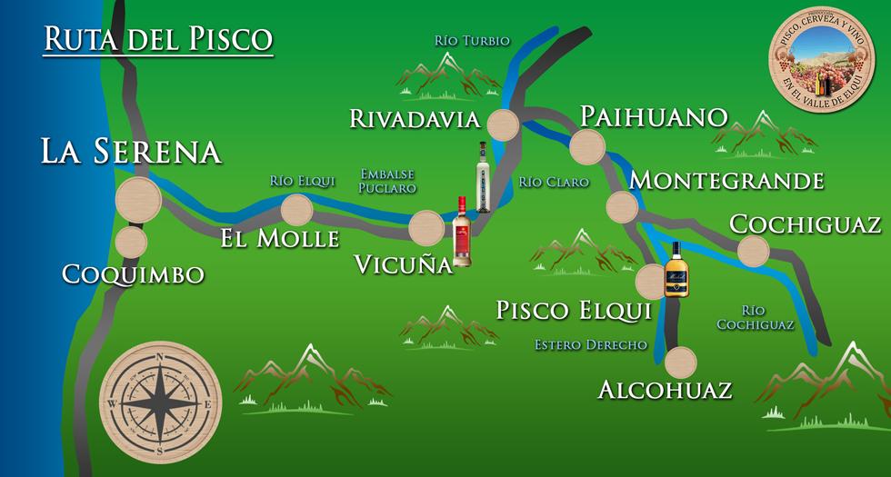 mapa Pisco