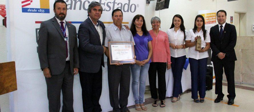 BancoEstado Microempresa premia a nivel regional a emprendimiento  «Rancho Elquino» de Vicuña