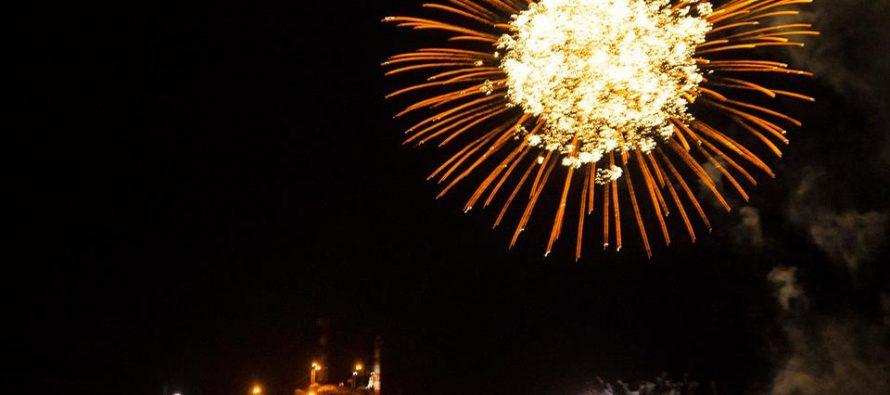 En Vicuña, Talcuna y Rivadavia se vivió la llegada del 2016 con fuegos artificiales