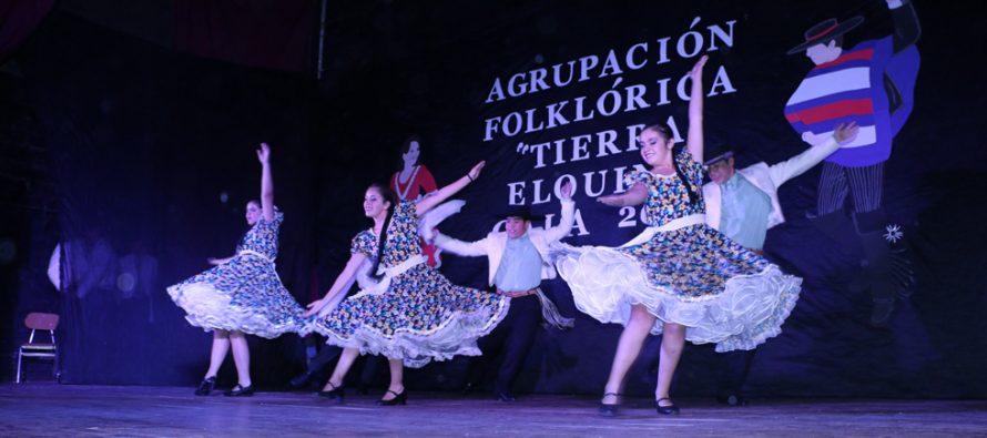 Tierra Elquina realizó brillante presentación en su gala folclórica al cumplir 9 años de vida
