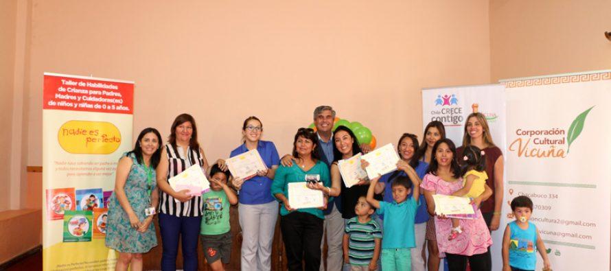 Capacitan a funcionarios municipales en temas de crianza de niños y niñas en su primera infancia