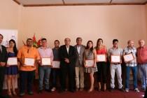 Hombres y mujeres de Vicuña se capacitaron en minería con la Universidad Santo Tomás