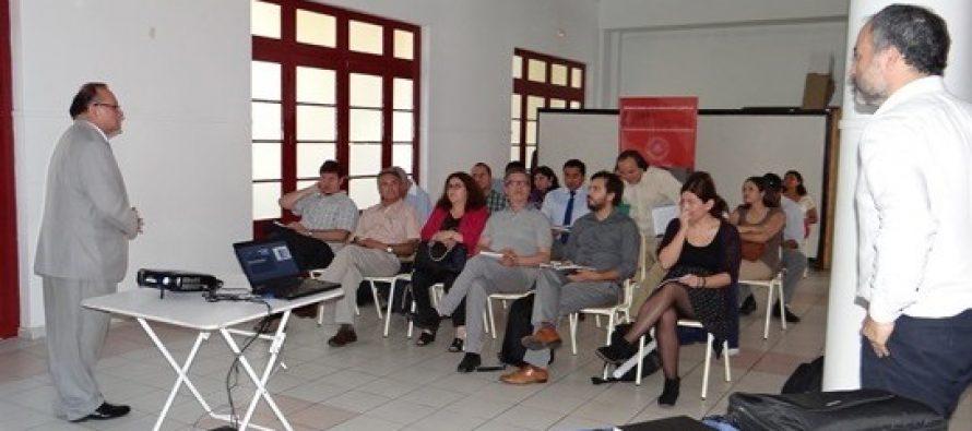 Municipios de La Serena, Vicuña y Paihuano se informan de Proyecto Sistema Nacional de Educación Pública