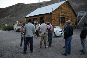 llegada de familias a La Laguna