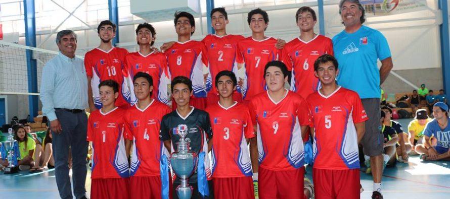 Coquimbo y La Serena fueron los campeones de torneo nacional de Voleibol en Vicuña