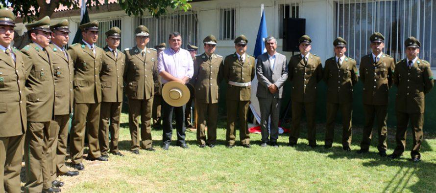Once carabineros ascendieron de rango en la 5ta Comisaría de Vicuña