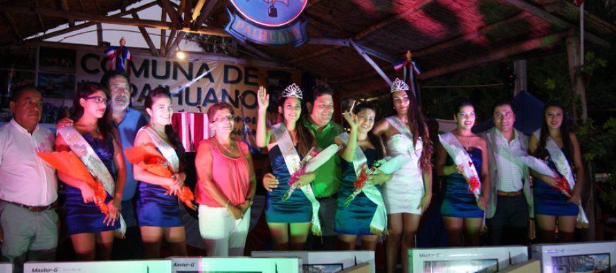 Daniela Gallardo de la localidad de Horcón es la nueva reina del Carnaval del Sol de Paihuano