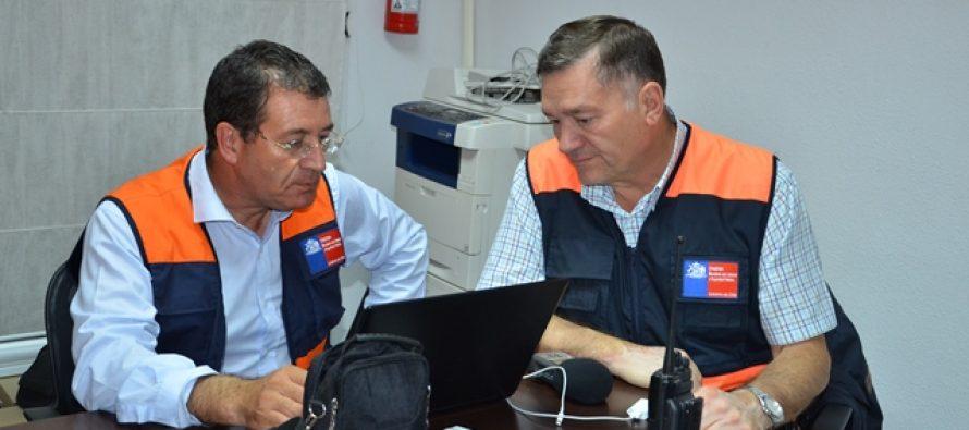 Cortes de luz y algunos rodados evaluación luego de sismo en la zona